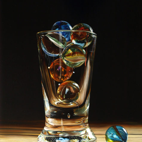 ST 12318 - Olio Su Pannello - Oil on panel 42.5x62.5h