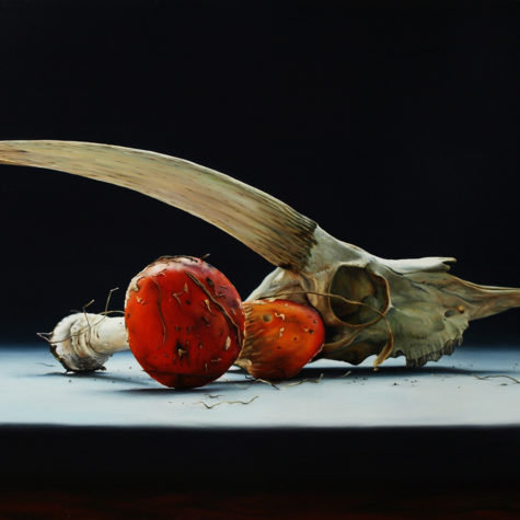 ST221118 - Olio Su Pannello - Oil on Panel - 64.5x44.5h